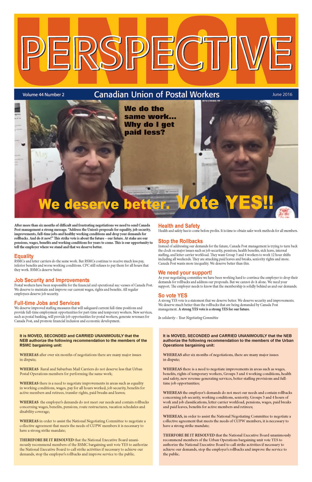 We deserve better. Vote YES!!