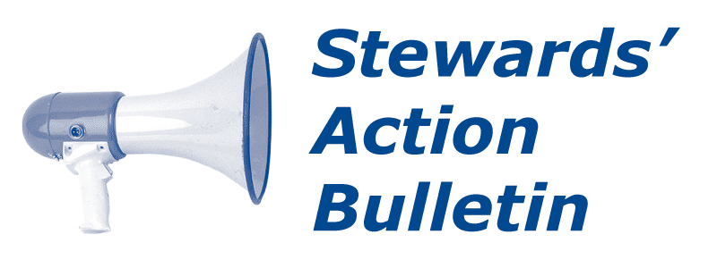 Logo: Stewards' Action Bulletin